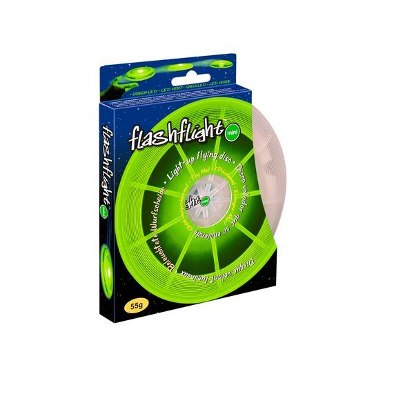 Frisbee Flashlight Mini, Klein, grün (EUR 19,83/100 g)