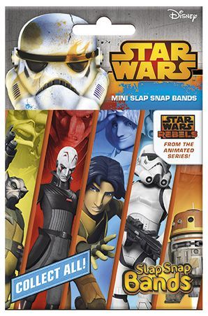 "Craze Slap Snap Bands - ""Star Wars Rebels"""