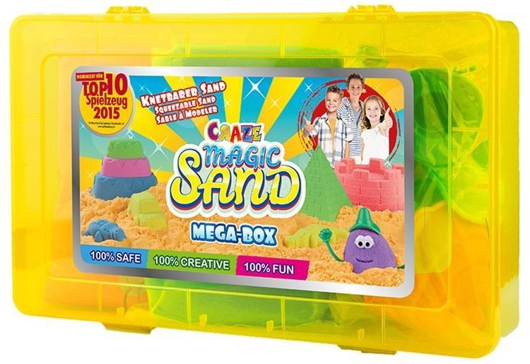 Craze Magic Sand - Mega-Box, 2 x 350 kg Magic Sand