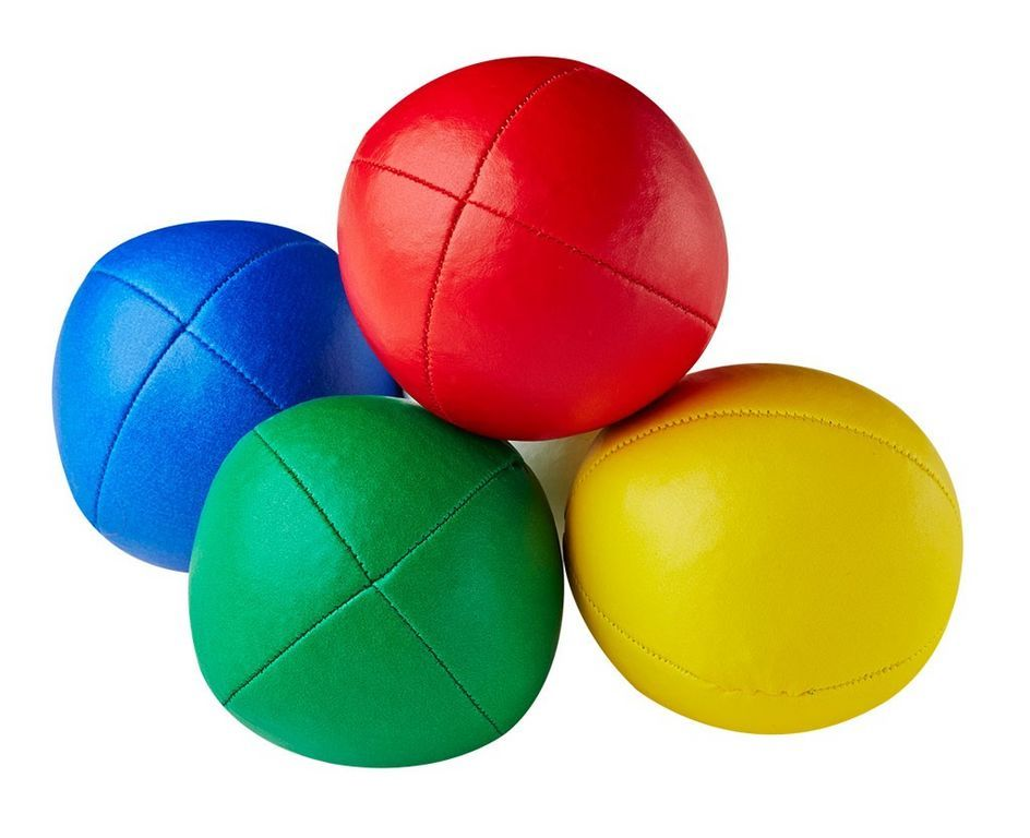 Mister Babache - Beanbag Ball Primary 130 Ø 66 mm 130 g gelb