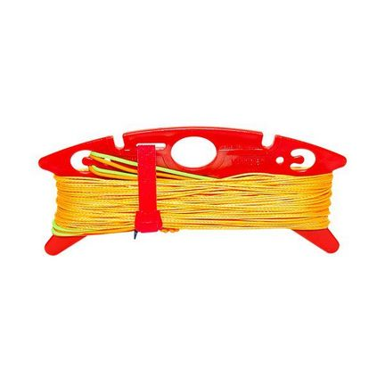 Dyneema-Winderset, Powerline, Yellow, 200/100 daN,  4 x 25 m