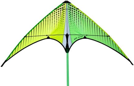 Prism Neutrino Add-on Stacker-Kite Citron 100 x 55 cm Cfk-Gestänge gelb/grün