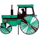 Windspiel stehend - Traktor Ø 30cm/20 cm 59cm x 35cm Höhe 105cm