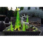 Elliot Lichtzauber - Sonnenfänger 3D-Design-Tannenbaum, klein, 12cm