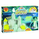 Craze Magic Sand - Castle-Box - Glow in the Dark, 700 g